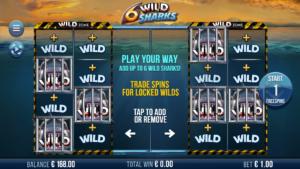 6 Wild Sharks Slot Bonus