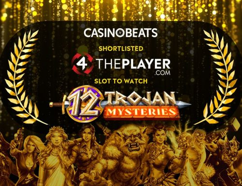 4ThePlayer Shortlisted for another award: Slot to Watch – 12 Trojan Mysteries!
